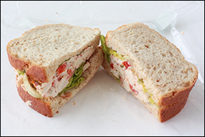 Starbucks' Chicken BLT Salad Sandwich