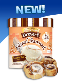 Dreyer's/Edy's Slow Churned Limited Edition Bakery Treats Light Ice Cream