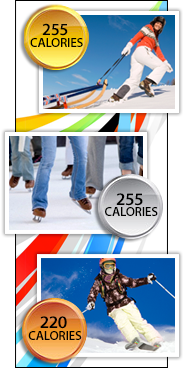 Burn Calories Like a Winter Olympian