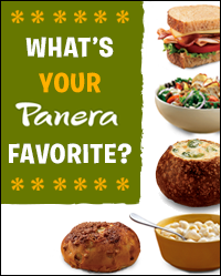 Win Your Favorite Panera Item for a Year!