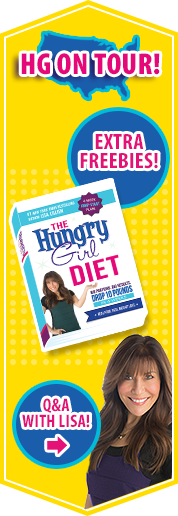 Free Goodies on the Hungry Girl Diet Book Tour