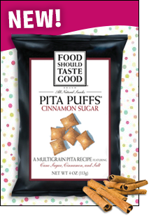 Food Should Taste Good Pita Puffs