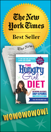 The Hungry Girl Diet Is a New York Times Best Seller