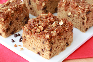 Hungry Girl's Choco-Chip Coffee Cake