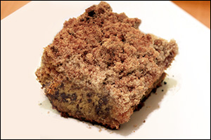 Chocolate Chip Coffee Cake, Average