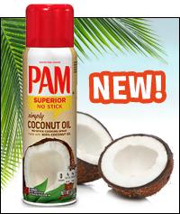 PAM Simply Coconut Oil Spray