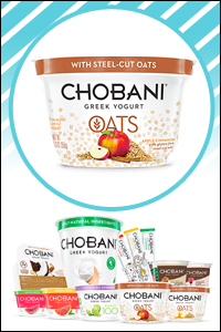 Even more new products from Chobani!