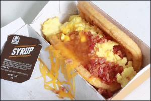 Taco Bell's Bacon Waffle Taco