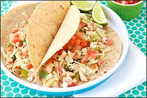 Hungry Girl's Baja Chick Tacos