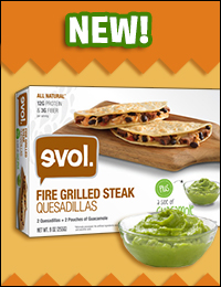 Evol. Quesadillas with Guacamole