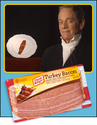 Overshadowed Bacon: Turkey Bacon & Michael Bacon
