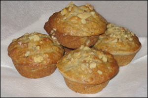 Banana-Nut Muffins, Average