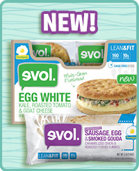 Evol Lean & Fit Breakfast Sandwiches & Burritos
