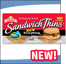 Arnold Everything Flavored Sandwich Thins