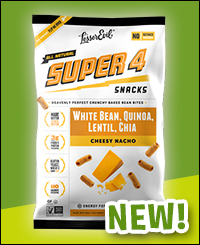 LesserEvil Super 4 Snacks