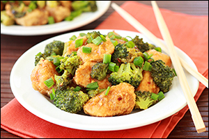 Hungry Girl's General Hungry's Chicken