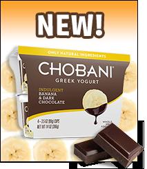 Chobani Indulgent Greek Yogurt