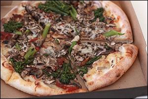 California Pizza Kitchen's California Veggie Pizza