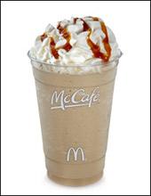 McDonald's McCafé Caramel Frappé