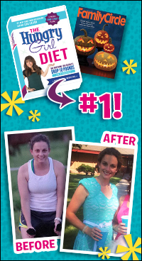 Hungry Girl Diet News: Wins Family Circle Diet Test, Plus a Success Story