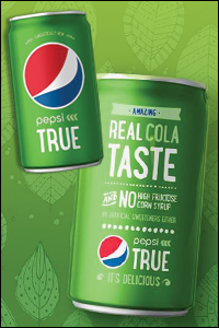 Pepsi True with Sugar & Stevia