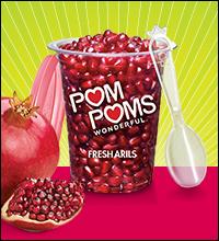 Pom Poms Fresh Pomegranate Arils