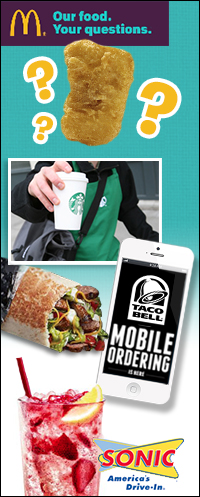 Fast-Food News: McDonald's, Starbucks, Taco Bell, Sonic