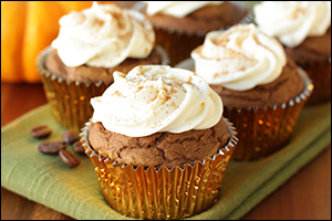 Hungry Girl's Spiced Pumpkin Latte Cupcakes