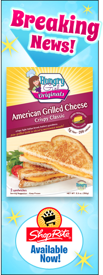 Hungry Girl Grilled Cheese: Coming to a ShopRite Near You