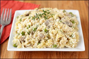 Hungry Girl's Squashy Chicken Tetrazzini