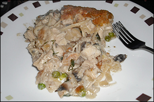 Chicken Tetrazzini, Average