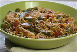 HG's Vampire-Proof Chicken 'n Veggie Pasta