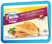 Top Ate for 2015: Hungry Girl Originals American Grilled Cheese