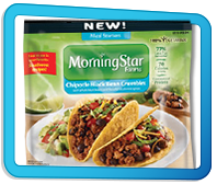 Top Ate for 2015: MorningStar Farms Chipotle Black Bean Crumbles