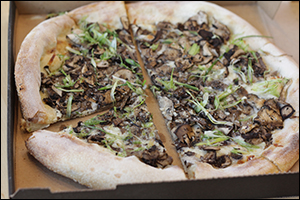 California Pizza Kitchen's Wild Mushroom Pizza