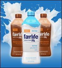 Fairlife Milk: 50 percent more protein