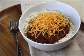 HG's Cin-sational Cincinnati Chili