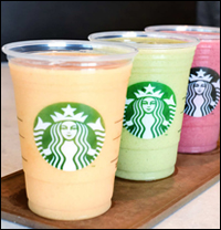 Starbucks Debuts Greek-Yogurt Smoothies