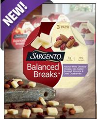 Sargento Balanced Breaks