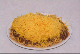 Skyline Chili's 3-Way Chili Spaghetti
