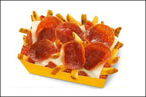 Carl's Jr. Pepperoni Pizza Fries