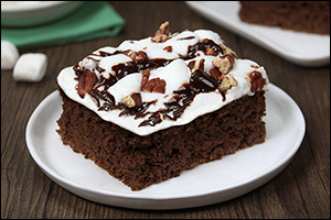 Hungry Girl's Li'l Miss Mud Pie Brownies