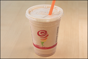Jamba Juice's Peanut Butter Moo'd Smoothie