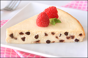 Hungry Girl's Chocolate Chiptastic Cheesecake