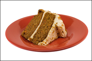 Carrot Cake with Cream Cheese Frosting, Average