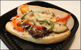 Applebee's Philly Burger