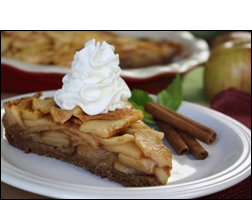 HG's Gooey-Good Fuji Apple Pie