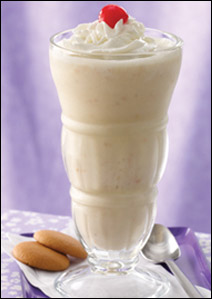HG's Happy Monkey Banana Pudding Shake