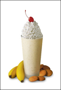 Chick-fil-A's Banana Pudding Milkshake, Small