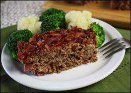 HG's Big Beef 'n Bacon Meatloaf